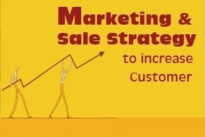 Marketing & Sales Strategy to Increase Customer