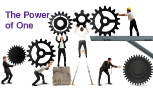 Synergistic Teamwork : The Power of One ©